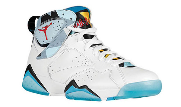 0fd962553fbf Air Jordan 7 N7. Air Jordan 1 Low N7 Colorway  White Dark Turquoise-Ice  Cube Blue-Black