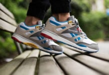Burn Rubber Reebok Ventilator Boblo Boat On Foot