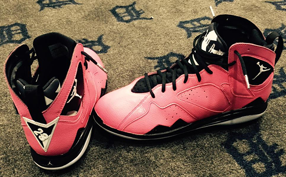 David Price Air Jordan 7 Cleats Mothers Day