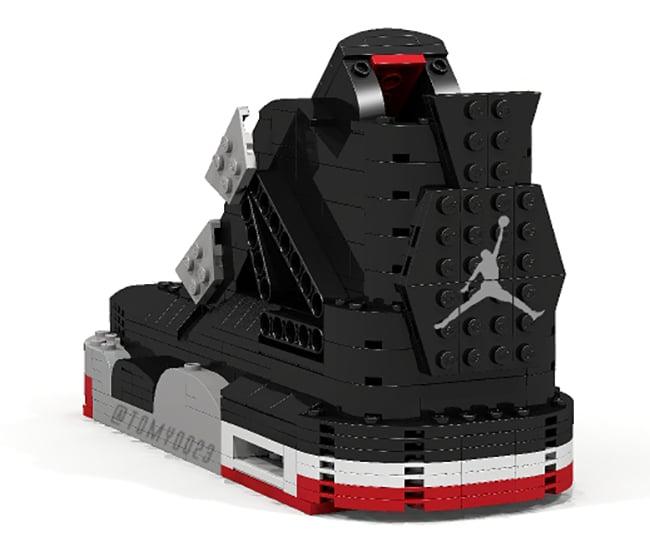 LEGO Air Jordan 4 Bred