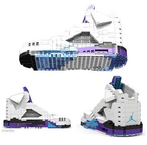 LEGO Air Jordan 5  Grape   30f1ddf9d