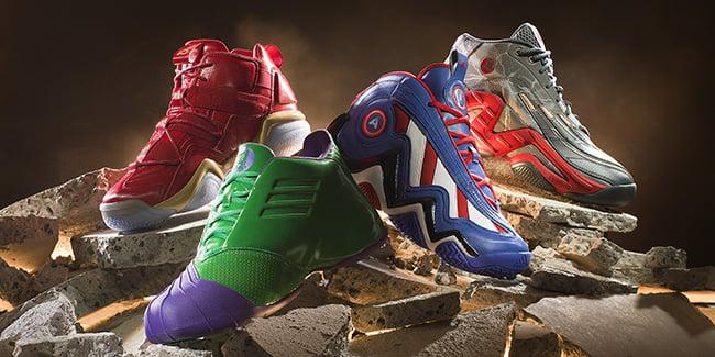 Avengers adidas Basketball Collection