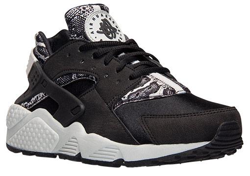 Nike Air Huarache Snakeskin Black White