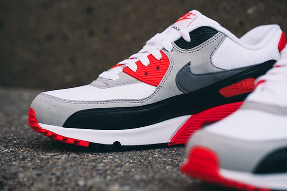 lovely Nike Air Max 90 OG Infrared Detailed Look - ramseyequipment.com f6ceda79d6be
