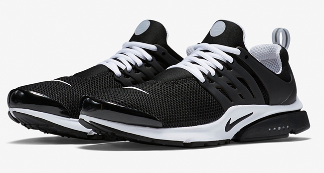 best service 1cd0f ba744 Nike Air Presto Breathe Black White Release Date