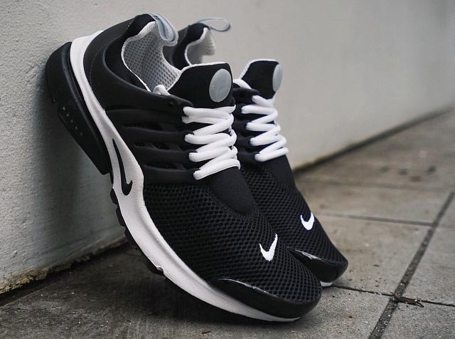 Nike Air Presto Breathe Black/White