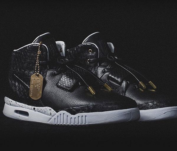 Nike Air Yeezy 2 Dirty City Custom