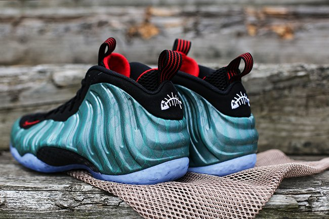 wholesale dealer 915e5 cace4 Nike Air Foamposite One Gone Fishing | SneakerFiles