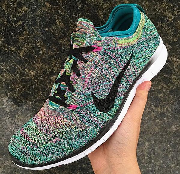 Womens Nike Free 5.0 Tr Flyknit Training Shoes
