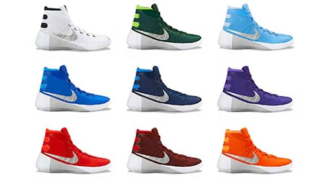 837a10640de3 Nike Hyperdunk 2015 TB Colorways