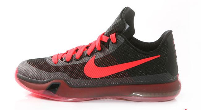 reputable site b0586 1d935 Nike Kobe 10 Black Bright Crimson Release Date