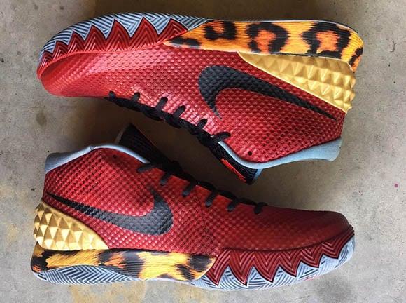 online store 2f4ab d2834 Nike Kyrie 1 'NBA 2K14' Custom | SneakerFiles