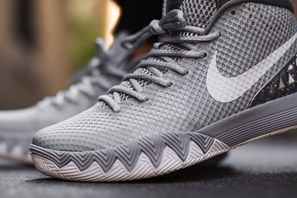 Nike Kyrie 1 Wolf Grey On Foot
