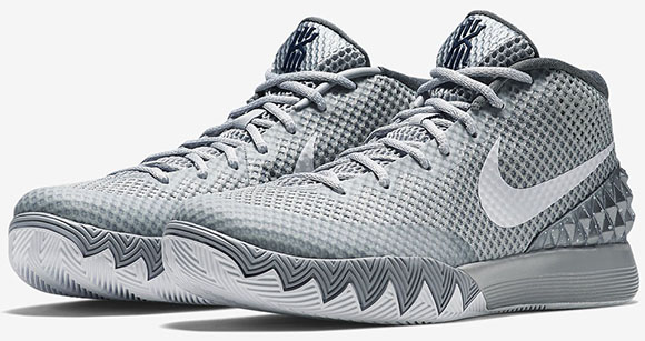 hot sale online c0ad7 54fac delicate Nike Kyrie 1 Wolf Grey Release Date