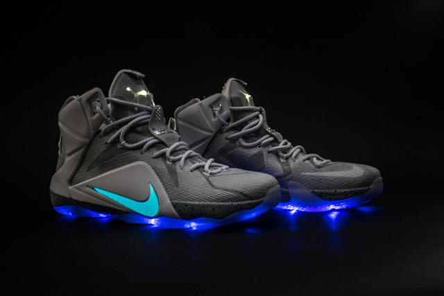 Nike LeBron 12 Air Mag Custom