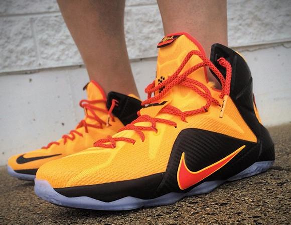 b63f865badd Nike LeBron 12  CLE  - On Foot