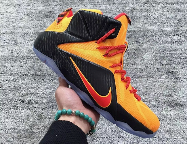 Nike LeBron 12 CLE Release Date