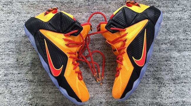 Nike LeBron 12 CLE Release Date