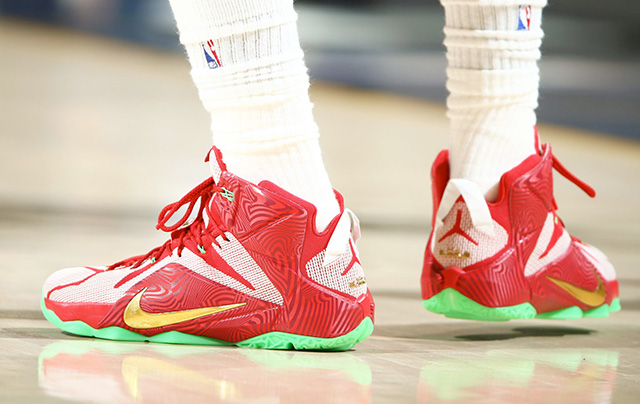 competitive price 57a4a adcef Nike LeBron 12 'LeBrons Mix' From Sprite | SneakerFiles