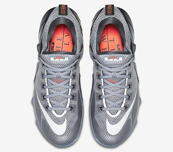 Nike LeBron 12 Low Hot Lava