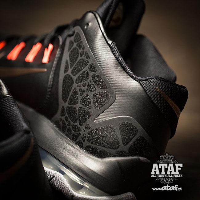 02347546c0 Nike LeBron Ambassador 7 Black / Bronze   SneakerFiles
