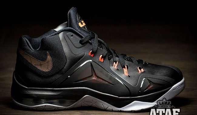 Nike LeBron Ambassador 7 Black / Bronze