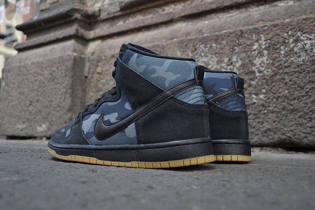 promo code 0af9b aec59 well-wreapped Nike SB Dunk High Obsidian Camo