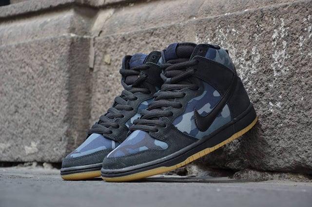 Nike SB Dunk High 'Obsidian Camo