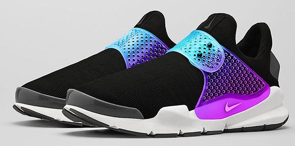 Nike Sock Dart Black Grape