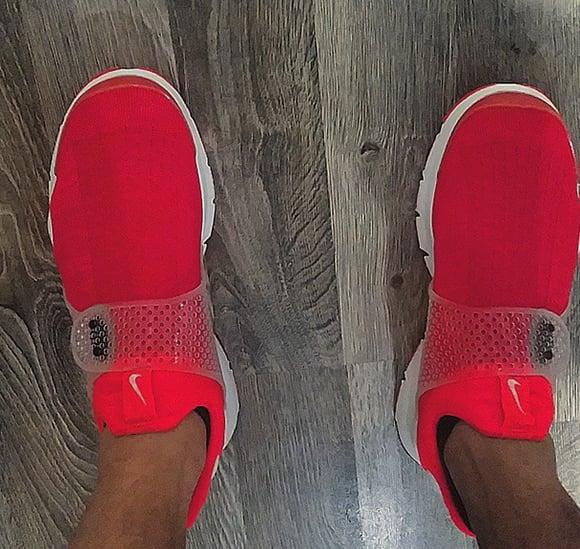 Nike Sock Dart Red More Images