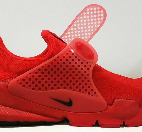 superior quality d50e1 d6e00 Nike Sock Dart 'Red' - More Images | SneakerFiles