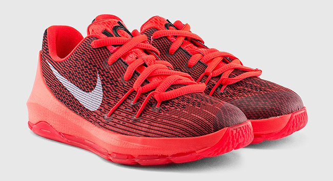 new product 220ea 55719 Pre School Nike KD 8 Bright Crimson