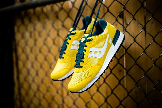 Saucony Shadow 5000 Yellow Green White
