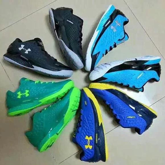 Under Armour Curry One Low More Colorways