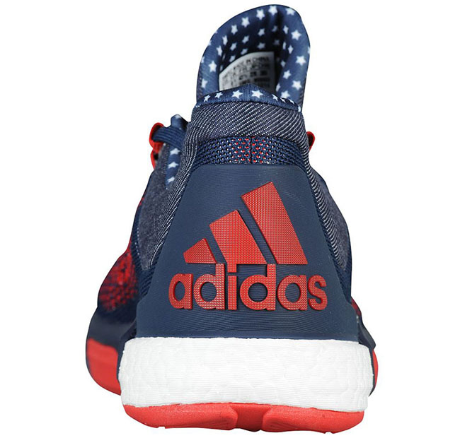 pretty nice 9c286 870ef shopping adidas crazylight boost primeknit red 8e610 b1454
