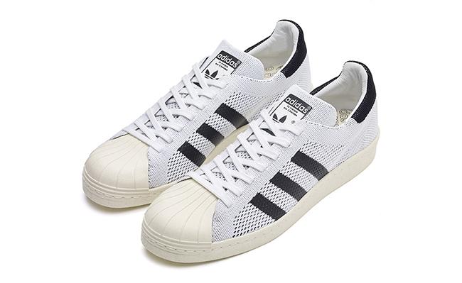 adidas Superstar Primeknit Black White