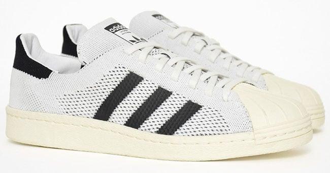 adidas Superstar Primeknit White Black