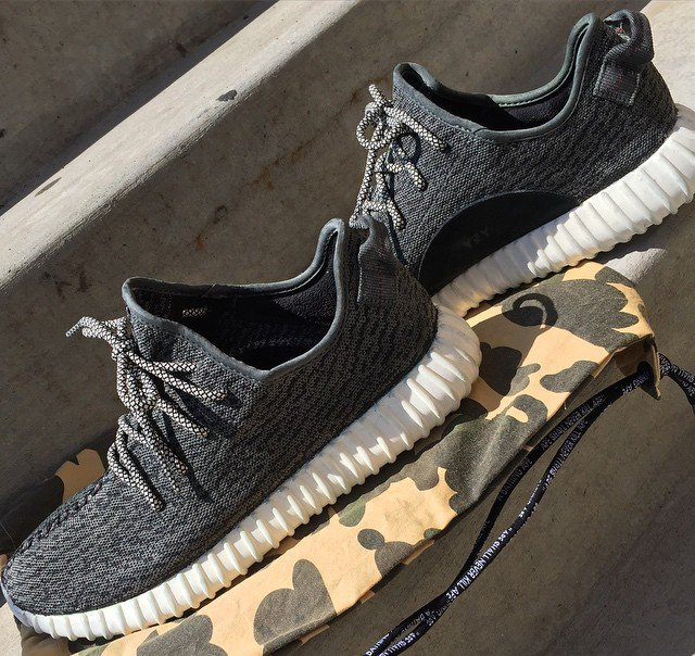 f530d6a62512d ... sweden the first adidas yeezy 350 boost custom comes with forest green  daffb d1218