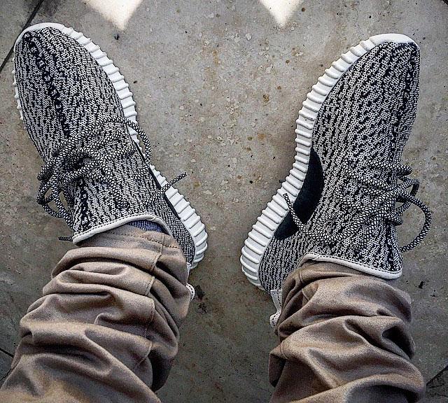 adidas Yeezy 350 Boost Low On Feet