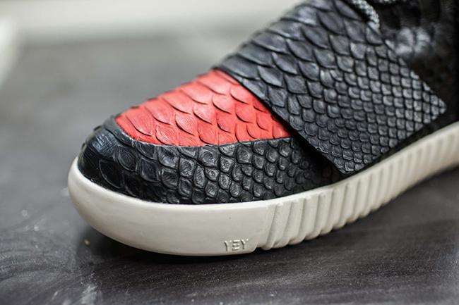 adidas Yeezy 750 Boost Bred Python Custom