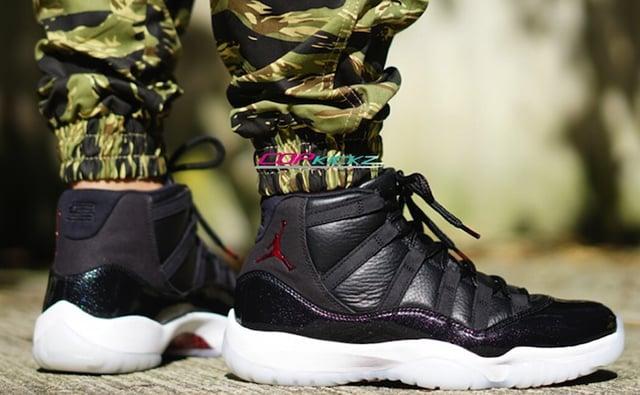 Air Jordan 11 72 10 On Feet