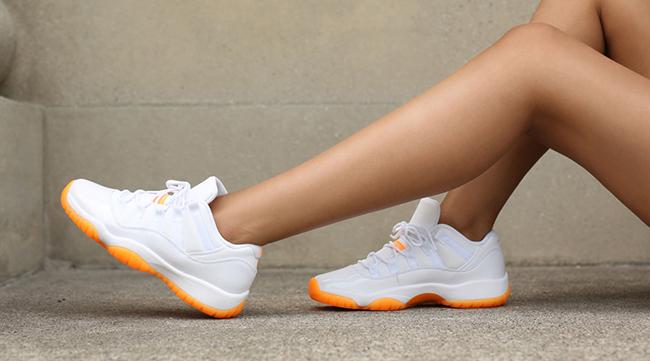 Air Jordan 11 Low Citrus Girls 2015 Retro Sneakerfiles