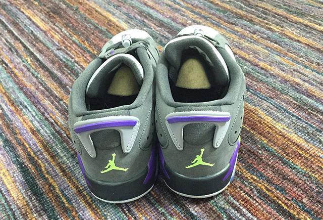 Air Jordan 6 Low GS Dark Grey