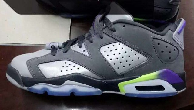 Air Jordan 6 Low GS Dark Grey