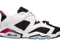 Air Jordan 6 Low GS Fuchsia Girls
