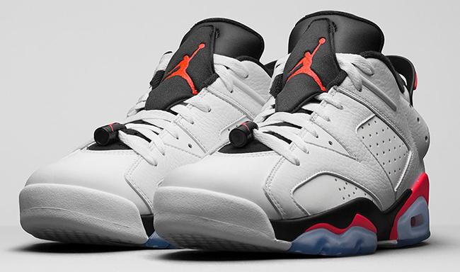 Air Jordan 6 Low Infrared