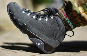 Air Jordan 9 Anthracite On Feet