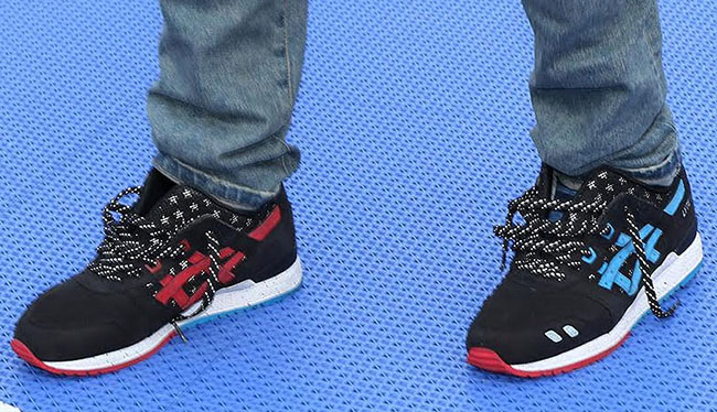 Asics Gel Lyte III Bottle Rocket On Feet
