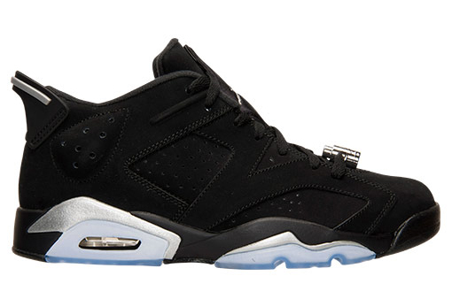 Air Jordan 6 Low Black Chrome 2015