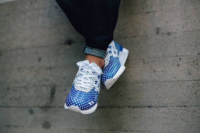 colette Asics Gel Lyte III Dotty On Feet